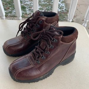 Dexter Ankle Leather Waterproof Boots Hiking Sz 8